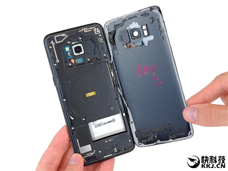 Galaxy S8全球首发拆解!屏幕碎了就悲剧