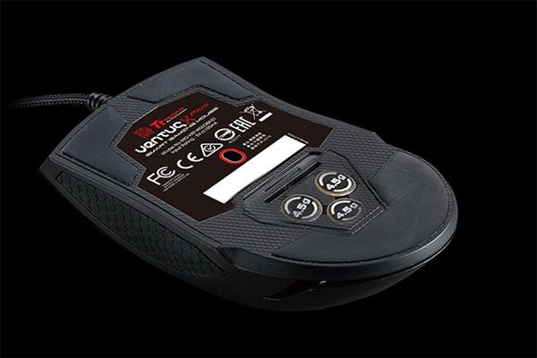 Tt全新游戏鼠Ventus X PLUS:10000DPI还能在手机上看手速