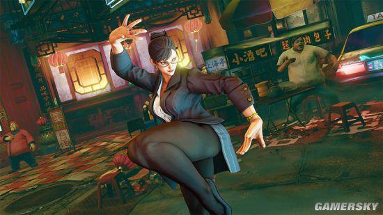 《街头霸王5》新DLC截图曝光:春丽穿制服变女白领
