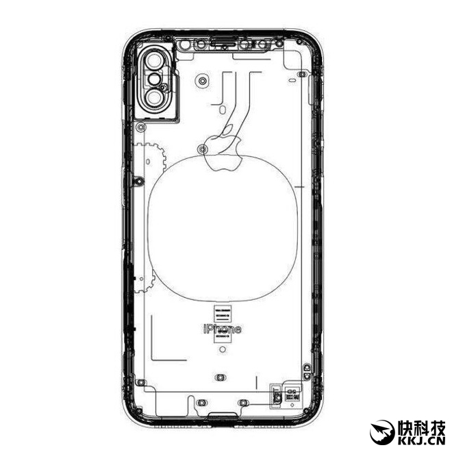iPhone 8官方新设计图曝光:竖排双摄 为了AR?