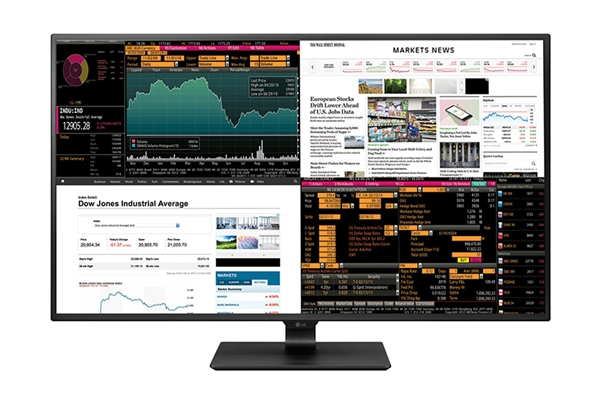 LG全新43寸4K显示器太疯狂:4路HDMI同屏