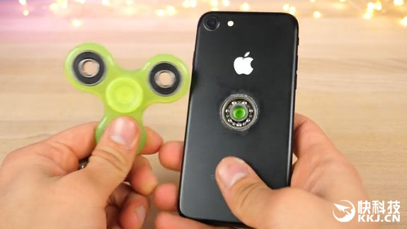 iPhone 7暴力改造:秒变指尖陀螺