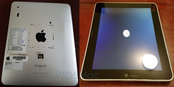第一代iPad原型真机现身 乔布斯操刀