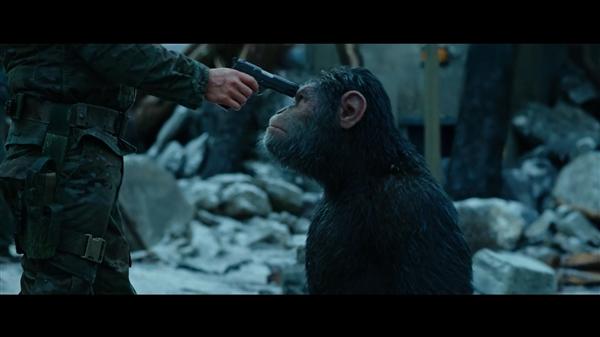 科幻大片《猩球崛起3》新预告:凯撒终结人类统治