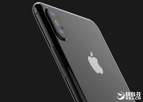 iPhone 8定型真机照全球首曝!双2.5D玻璃、无Home键