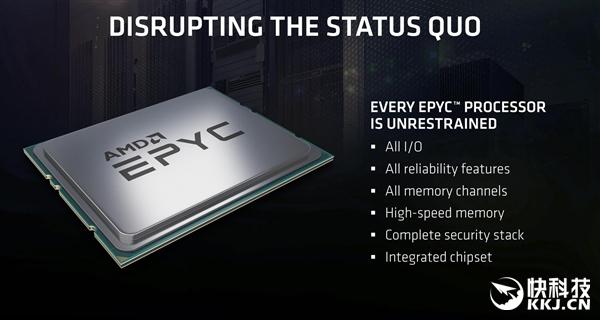 和Intel血拼到底!AMD 32核心之后还有7nm