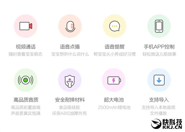 360智能故事机发布:15万首资源/亲子视频通话