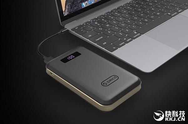 ORICO三口移动电源:Type-C双向快充/能充MacBook