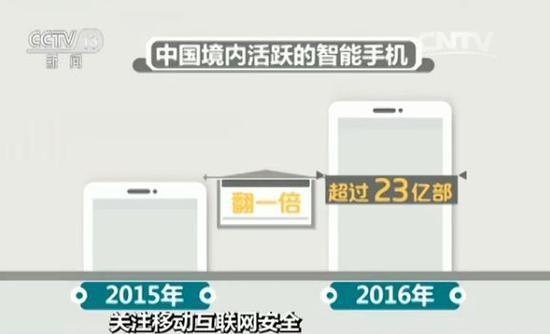 中国移动互联网发展安全报告:99.9%中毒手机是安卓