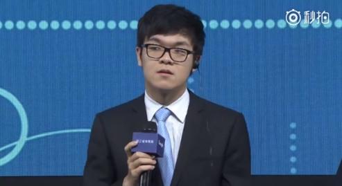 柯洁回应记者英文提问:如果你是中国人请用中文提问