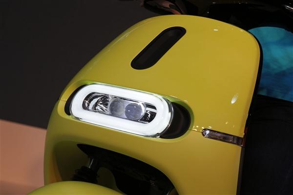 Gogoro二代电动车发布!极速90km/h续航110km