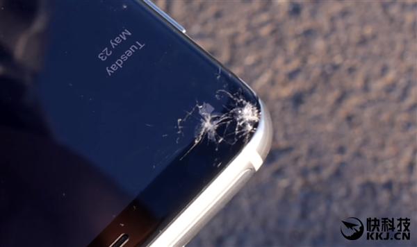 三星S8与LG G6跌落测试!谁更硬