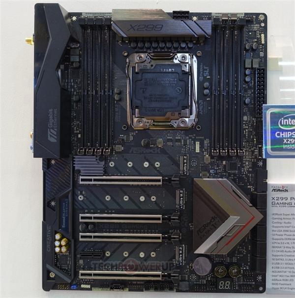 华擎连发三款顶级X299主板,包括X299 Fatal1ty Professional、Gaming i9以及X299 Killer SLI/ac三款