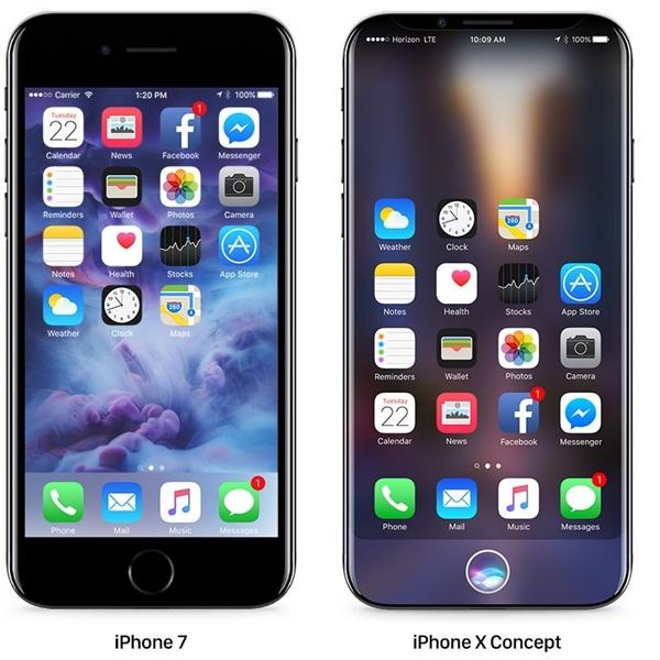 JDI暗示iPhone 8要用OLED屏!屏幕尺寸大到惊人