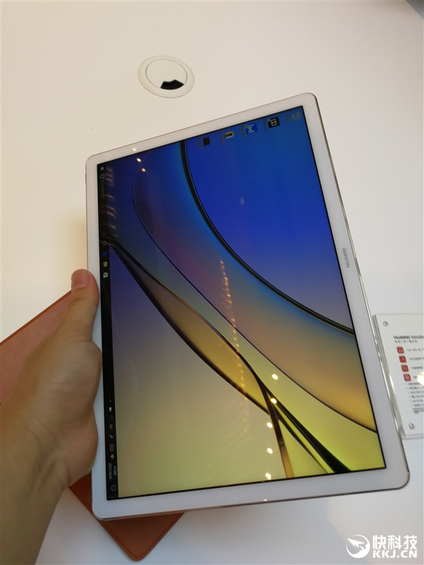 Surface劲敌!华为MateBook E真机图赏:二合一/2K屏/指纹