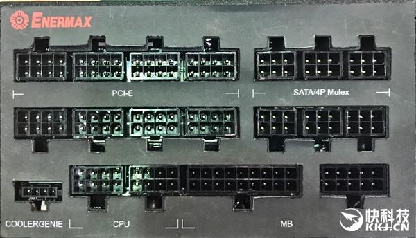 安耐美发布MaxTytan 1250W白金电源:自带功率计