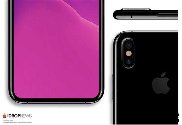 完美!iPhone 8、三星Note 8发力:指纹识别在屏幕中