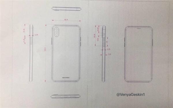 全面量产!iPhone 8更多细节:这外形无悬念