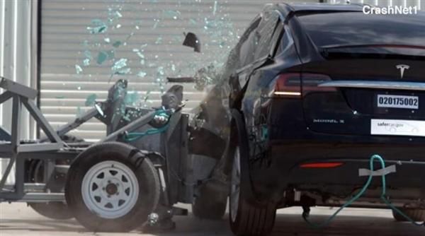 特斯拉Model X成为安全级别最高的SUV