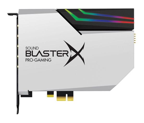 创新发布BlasterX AE-5独立声卡:32bit DAC、RGB炫灯