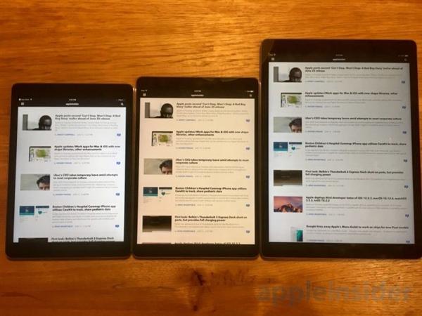 生产力暴增!10.5英寸iPad Pro开箱体验:太好用