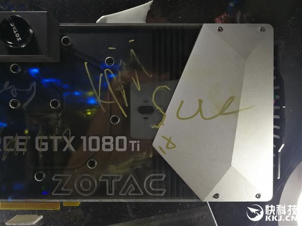 索泰秀GTX 1080寒冰至尊:定制水冷 18相供电