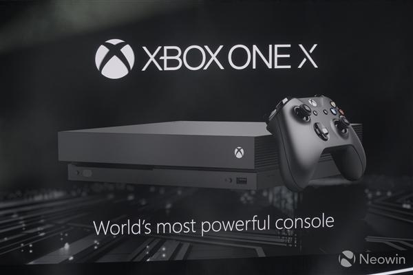 微软:Xbox One X坚持机能优先 独占再等两年……