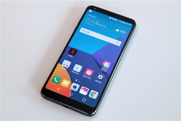 美国运营商Sprint疯狂促销全面屏旗舰LG G6:仅需817元