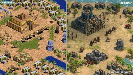 《帝国时代:终极版》对比原版 画面进化十分明显