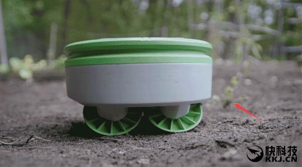 自动除草机Tertill:支持太阳能充电