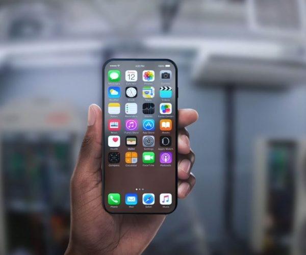 你们想要的iPhone 8竟然如此梦幻:全面屏+屏下指纹