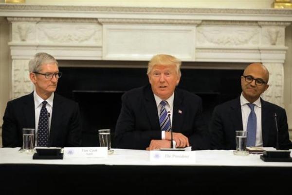 美国总统找微软/苹果/Intel/谷歌/IBM等大佬憋大招:为这事