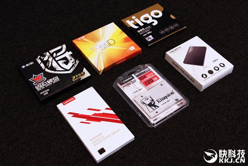 329元-429元 6款入门级2.5英寸SSD性能对比评测
