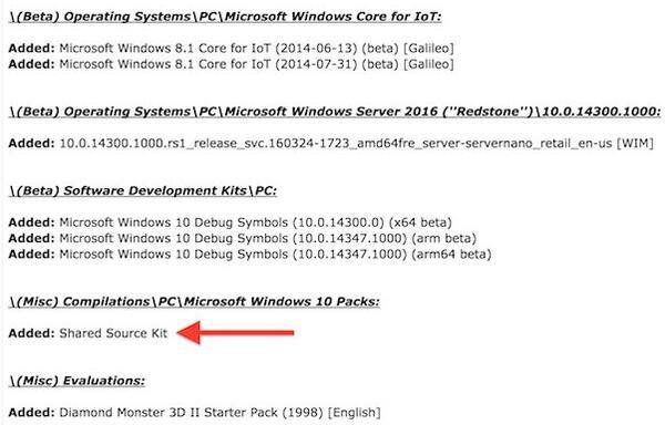 惊曝!微软Windows 10内核源代码网上泄漏:共32TB