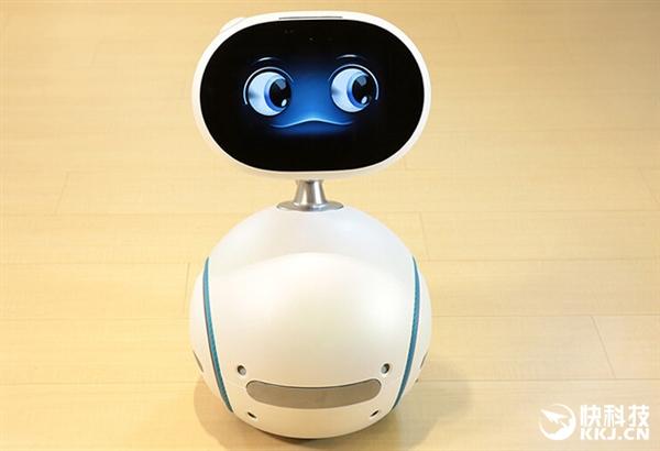 华硕腾讯智能机器人Zenbo Qrobot呆萌出场 还能QQ聊天
