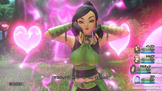 《勇者斗恶龙11》最新截图公布:新角色美丽性感