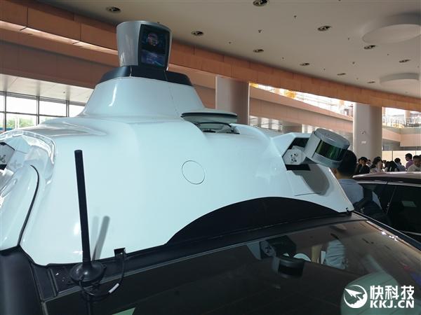 繁忙道路自由穿梭 百度第二代无人车首次近距离揭秘