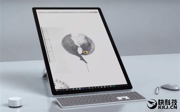 最强一体机!Surface Studio 2概念视频:这尺子真好用
