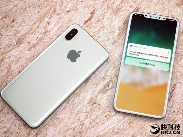 索尼长出口气!iPhone 8新配色镜面银曝光 太坑