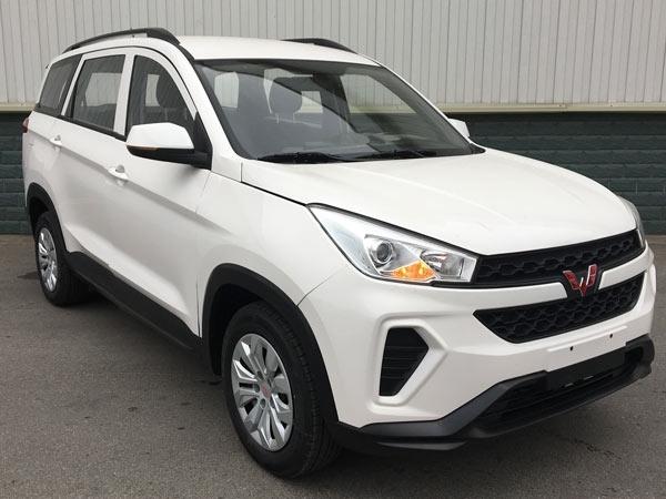 五菱宏光SUV来了 最便宜大7座?