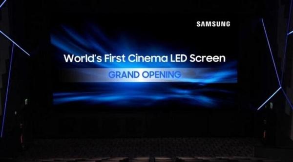 三星安装全球首块LED电影屏:加速投影仪死亡