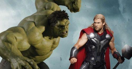 《雷神3:诸神黄昏》曝光大量新图 雷神怒劈绿巨人