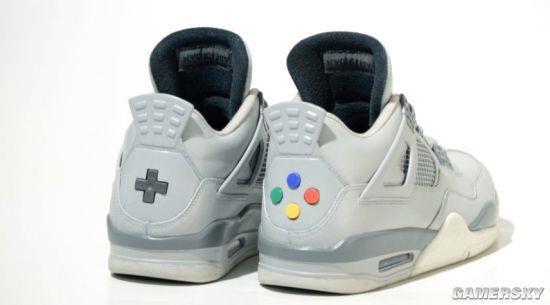 NES主题AJ球鞋发布 限量10双售价超8000元