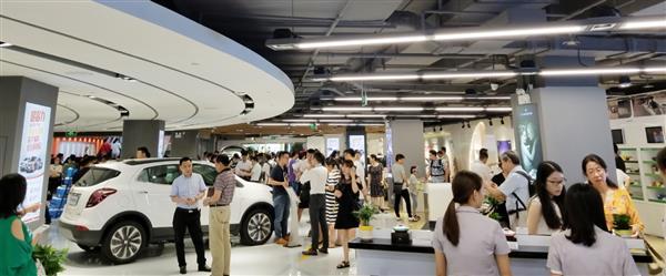 开业两天卖出30多辆豪车 苏宁汽车超市要火