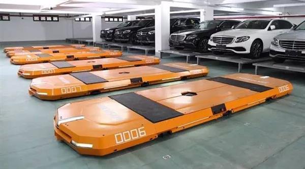 海康威视泊车机器人:可增加35%的停车位