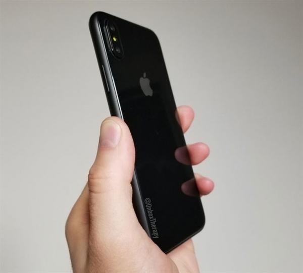 iOS 10下:iPhone 8最新外形图!这个全面屏很不一样