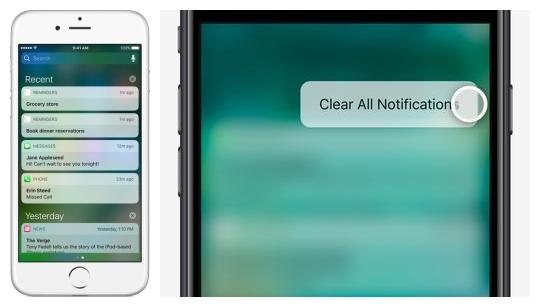 iPhone实用技巧:一键清除通知如此简单