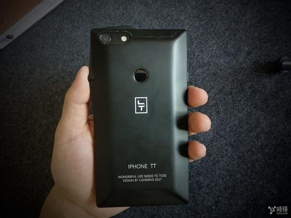 网友爆改iPhone 6 Plus!惊艳屏占比+后置指纹