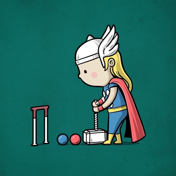 如果那些超级英雄有兼职 他们可能这些