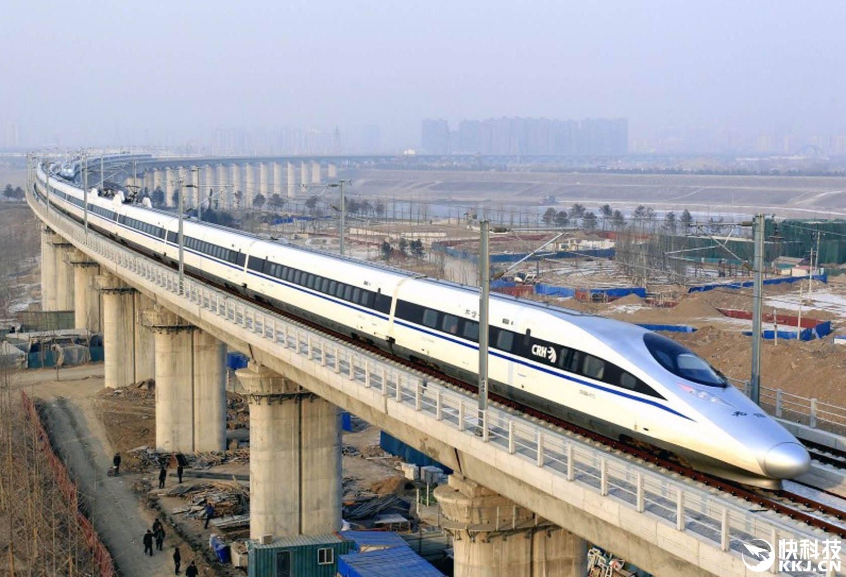 京沪高铁开跑350公里时速!全程节省38分钟